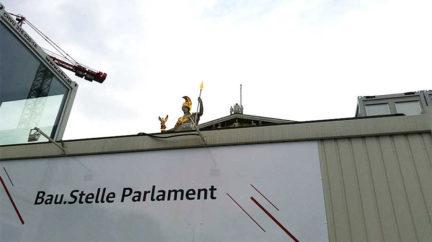 Schadstofferkundung Sanierung Parlament