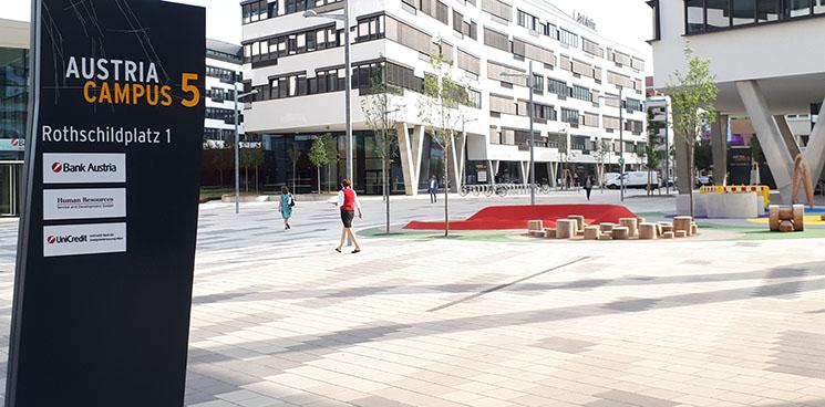 Gute Luft für Austria Campus