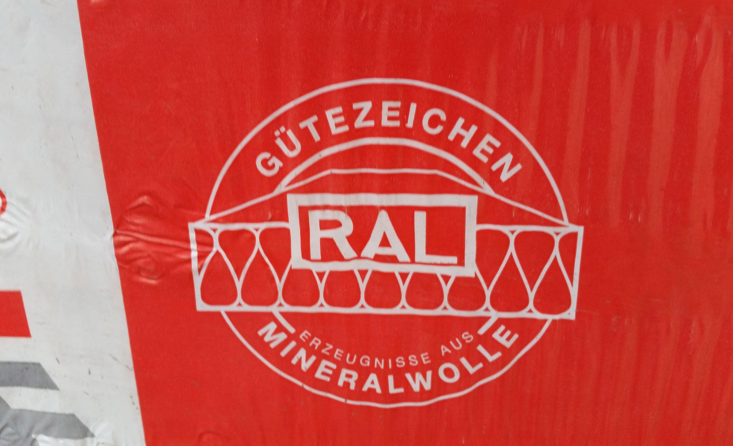 RAL Gütezeichen für Mineralwolle