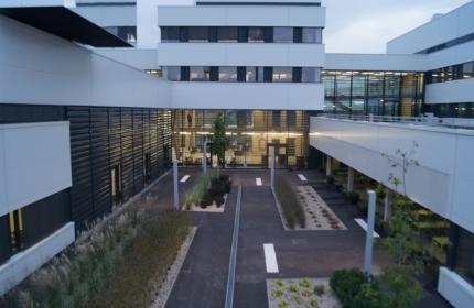 Hoerbiger Ventilwerke Innenhof