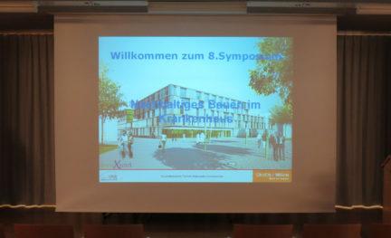 Start des Symposiums