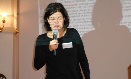 Vortrag von Ing. Hildegard Lerner