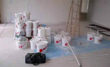 Vielfältiger Chemikalieneinsatz auf Baustellen