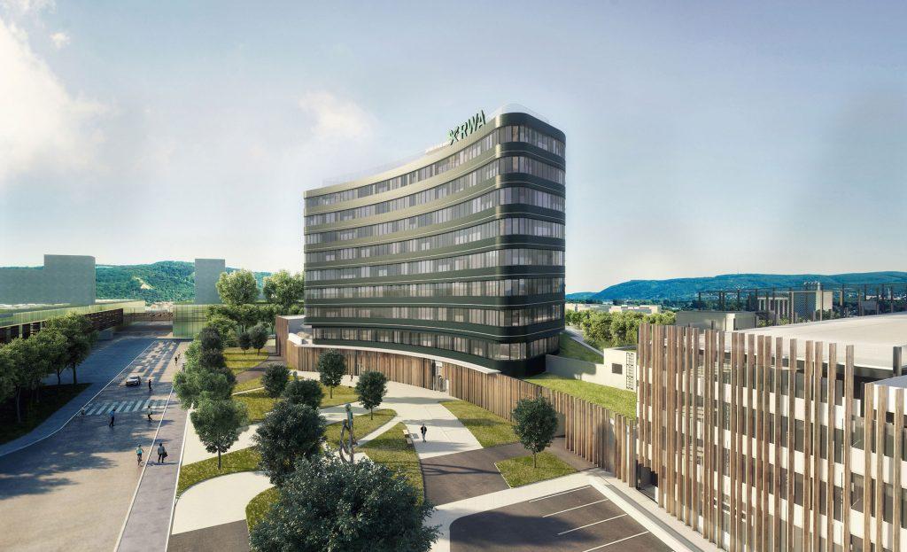 Raiffeisen Campus, Konzernzentrale in Korneuburg