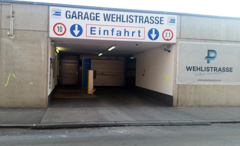 Abbruch Parkdeck Wehlistraße, 1200 Wien