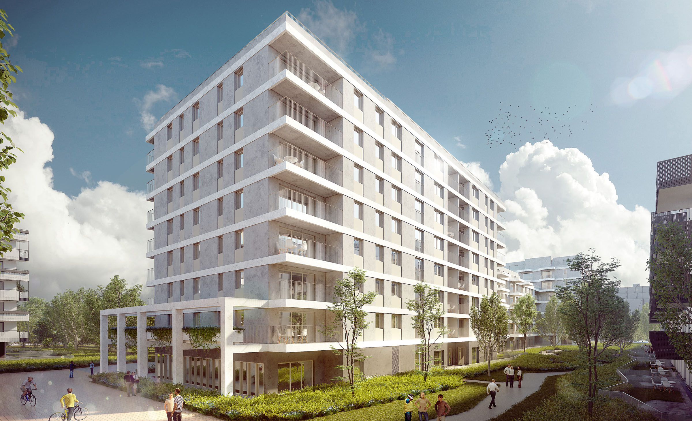 Wohnprojekt Green Eastside