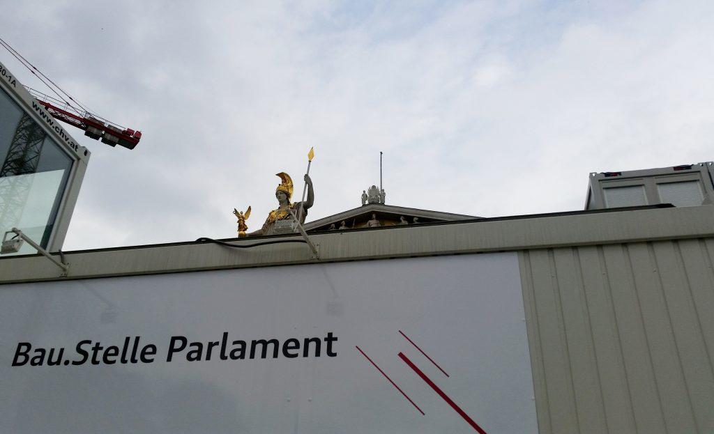 Generalsanierung Österreichisches Parlament