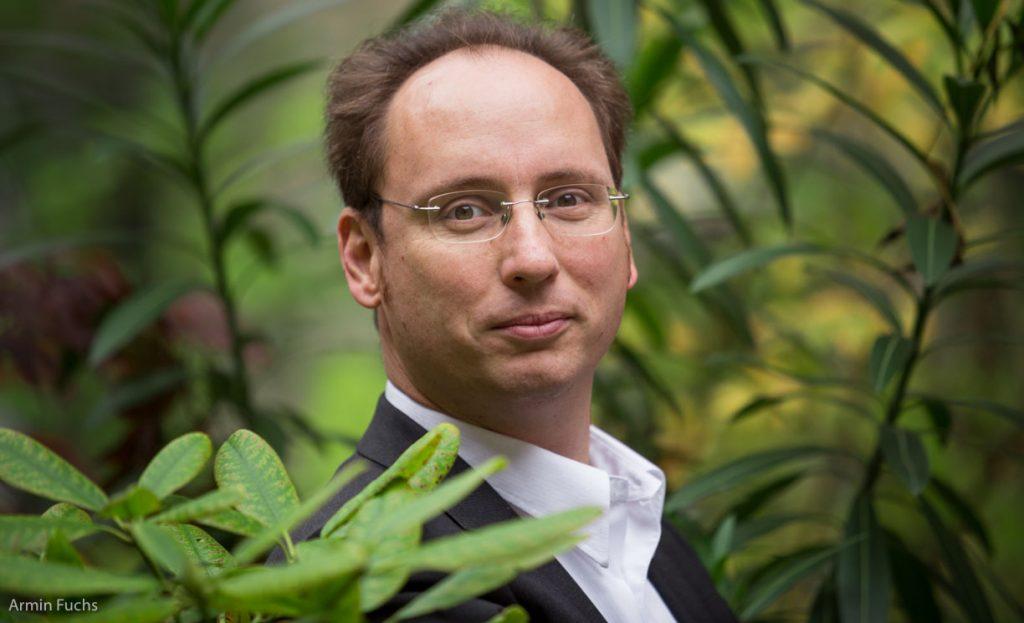 Dipl.-Ing. Bernhard Scharf, Senior Scientist am Institut für Ingenieurbiologie und Landschaftsbau der BOKU und Technischer Direktor der Start-ups Green4Cities GmbH und Greenpass GmbH