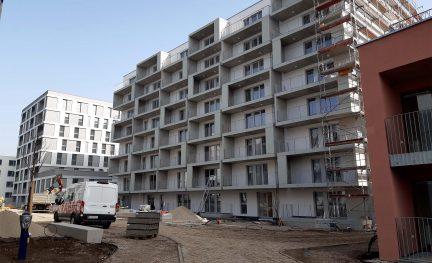 Neues Wohnquartier Wolfganggasse