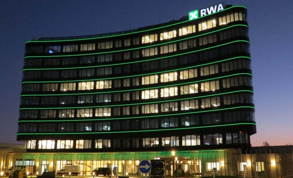 Zentrale der Raiffeisen Ware Austria in Korneuburg